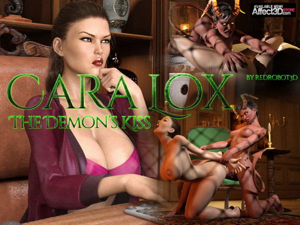Artist RedRobot3D – Cara Lox – The Demon's Kiss