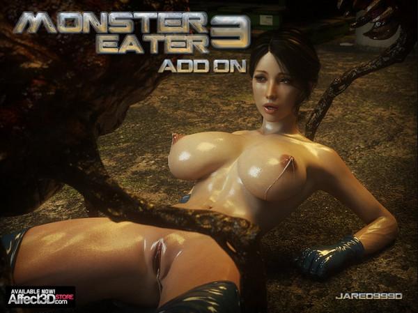 Artist Jared999D – Monster Eater 3 Add On
