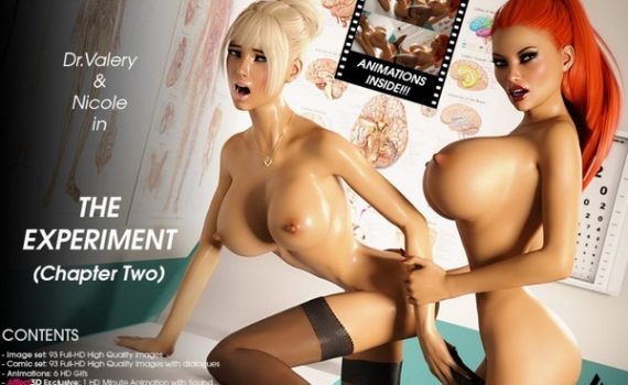 Artist Miki3DX – The Experiment - Chapter Two