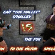 Squarepeg3D – The FUTA – Season 01, Match 01 – Cait O Malley vs The Fox