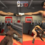 Artist Squarepeg3D – Arm Day vs Leg Day