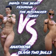 Squarepeg3D – The FUTA – Match 04 – Ingrid and Margaret vs Shaylah and Olivia