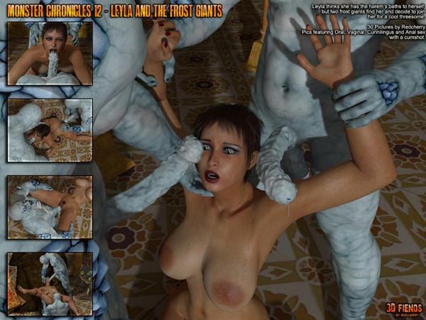 Artist 3DFiends - Monster Chronicles 12