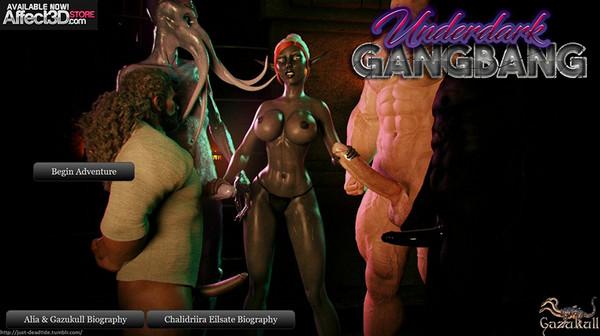 UnderDark GangBang