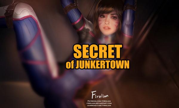 Artist Firolian – DVa – Secret of Junkertown