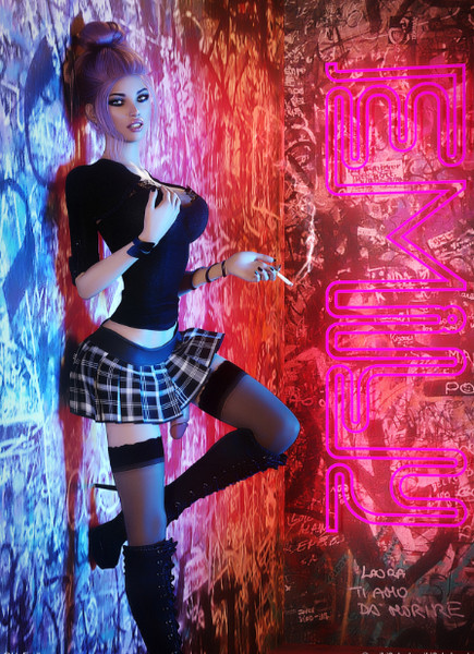 Artist Miki3DX – Emily