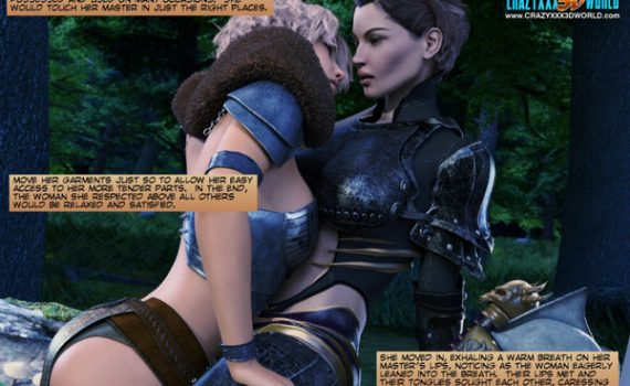Crazyxxx3DWorld – World Of NeverQuest – The Huntress 1-2
