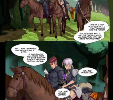 Artist Gabe – Tales of Beatrix – Knight and Mare