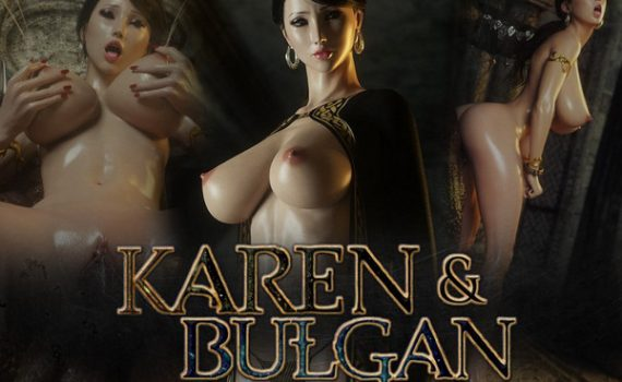 Artist Jared999D – Karen and Bulgan the Impaler Vol 1-2