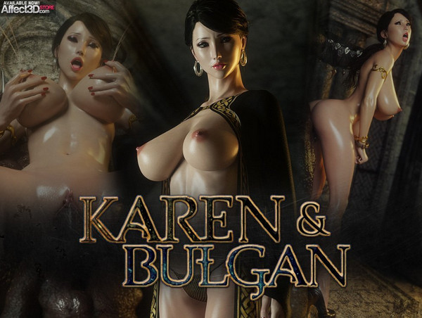 Artist Jared999D – Karen and Bulgan the Impaler Vol 1-2