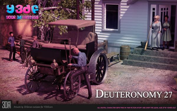 Artist Y3DF – Deuteronomy 3