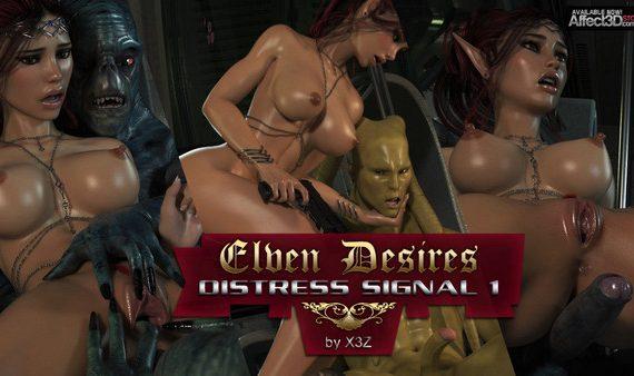 Artist X3Z – Elven Desires – Distress Signal