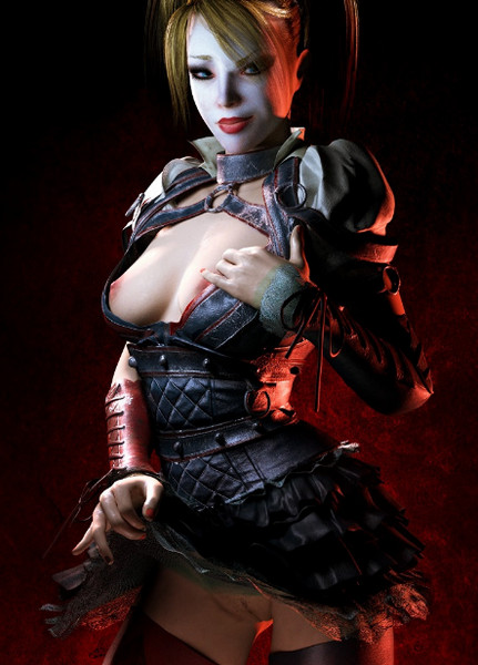 Harley Quinn (Batman Arkham) assembly part 1-2
