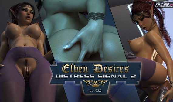 Artist X3Z – Elven Desires – Distress Signal 2