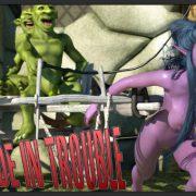Artist Zuleyka - Tyrande in Trouble 1-2