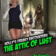 Artist Supafly - Holly's Freaky Encounters - The Attic of Lust