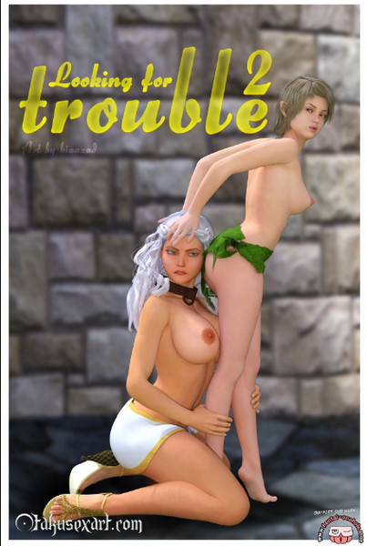 Artist Kia Azad - Looking for Trouble 1-2