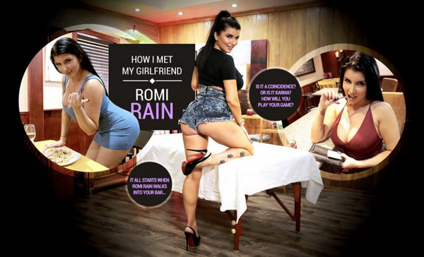 How I met my girlfriend Romi Rain