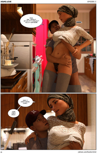 Young Love Vol.1-2 (Hijab 3DX)