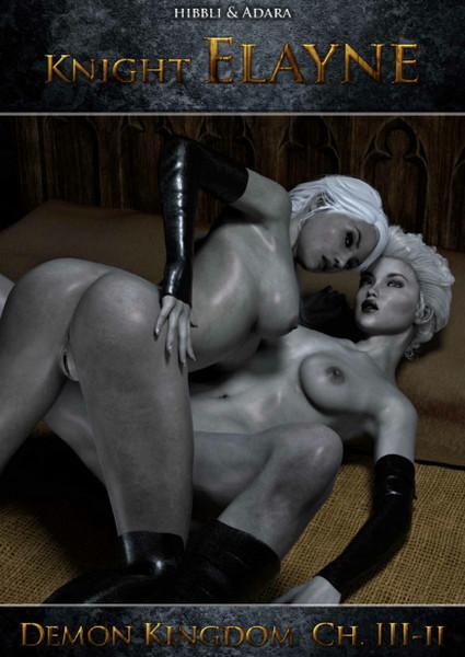 Artist Hibbli3D – Knight Elaine – Demon Kingdom (Chapter 3) Part 1-2