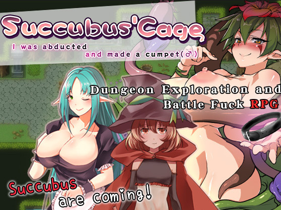 Succubus' Basket – I was abducted and made a cumpet (Eng)