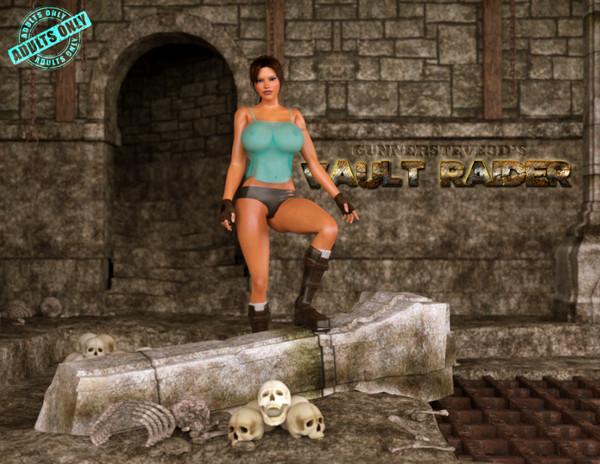 Artist GunnerSteve3D – Vault Raider