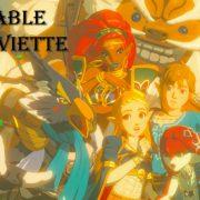 Sable Serviette Works / Zelda Link Mipha Urbosa