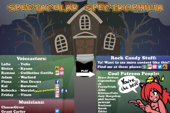 Spectacular Spectrophilia