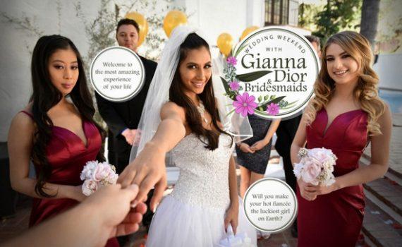 Wedding Weekend with Gianna & Bridesmaids