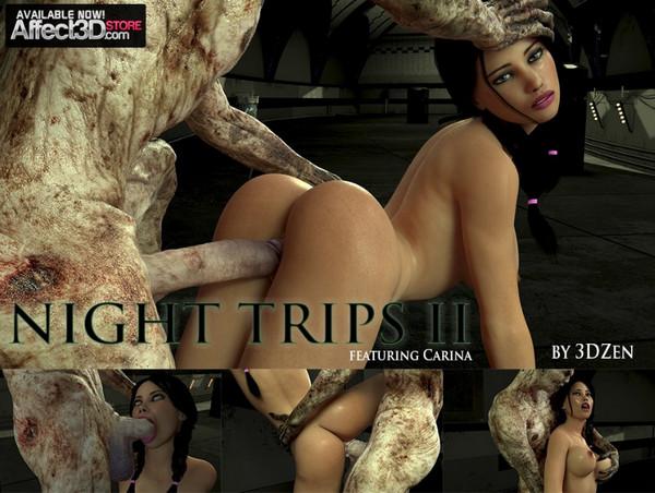 Artist 3DZen – Carina's Night Trips 2