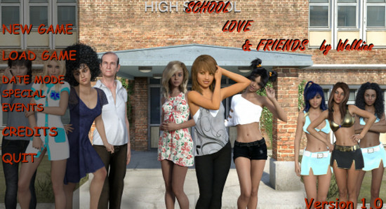 School, Love & Friends (Update) Ver.1.21
