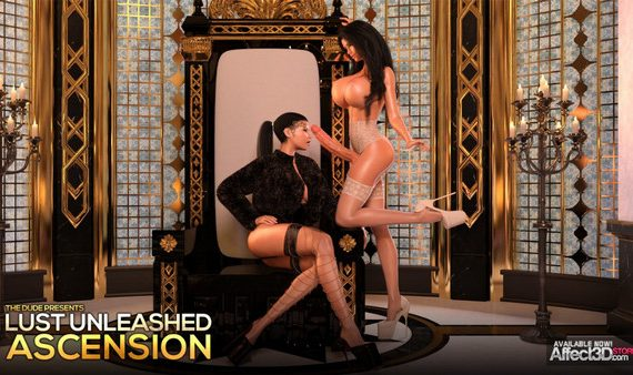 Artist TheDude3dx - Lust Unleashed: Ascension Part 1