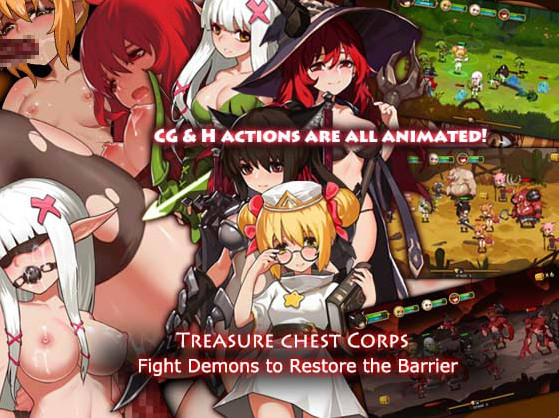 Treasure Chest Corps - Fight Demons to Restore the Barrier (Eng)