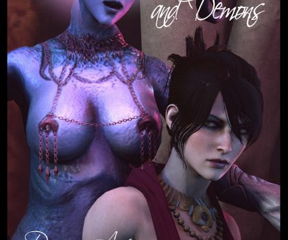 Artist AyatollaOfRock – Of Grimoires and Demons (Dragon Age) part 1-2