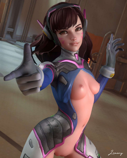 D.va - Overwatch Compilation
