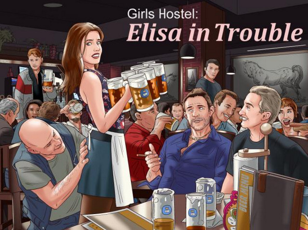 Girls Hostel: Elisa in Trouble