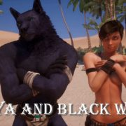 Wild Life: Maya and Black Wolf