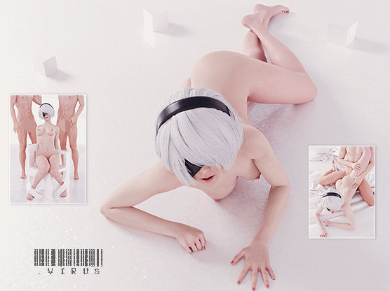 H.txt - Virus - NieR:Automata (Censored)