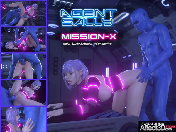 Artist LanasyKroft – Agent Sally – Mission X