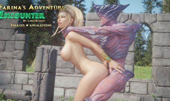 Artist Lord-Kvento - Farina's Adventure – Encounter + Animations