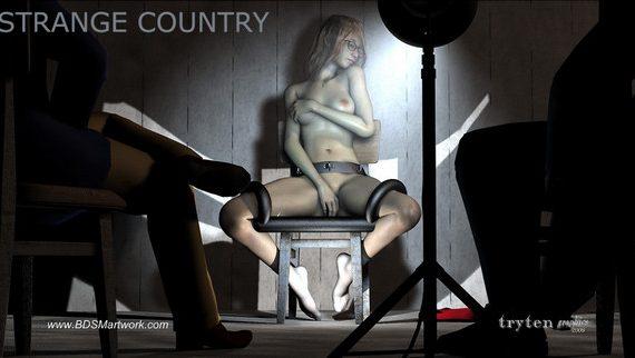Artist Tryten – Strange Country