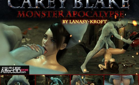 Artist Lanasy-Kroft - Carey Blake - Monster Apocalypse