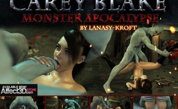 Artist Lanasy-Kroft - Carey Blake - Monster Apocalypse