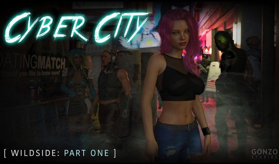 Artist Gonzostudios - Cyber City Wildside - Part 1