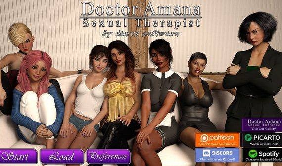 Dr. Amana, Sexual Therapist (Update) Ver.1.0.7b
