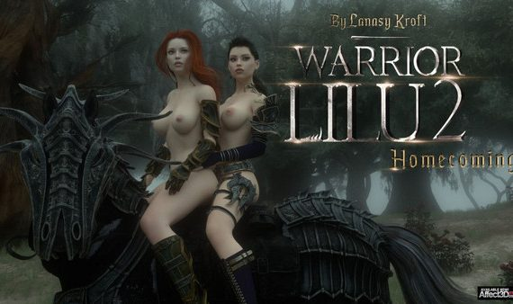 Artist LanasyKroft - Warrior Lilu 2 - Homecoming