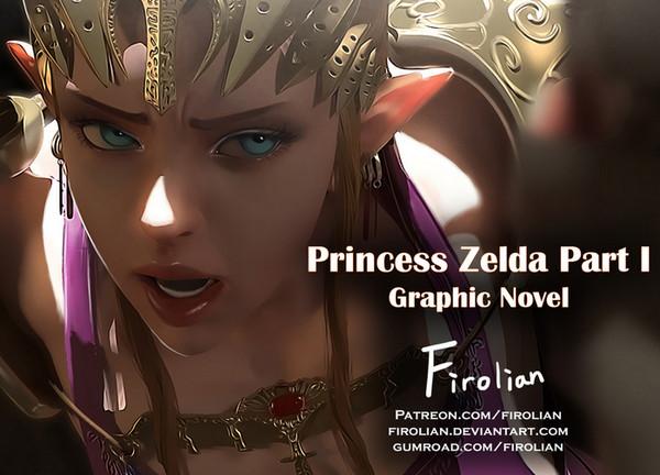 Artist Firolian – Princess Zelda 1-3