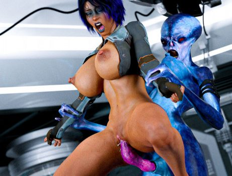 Artist RedRobot3D – Interspecies Communication – Futa Edition