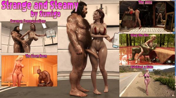 Artist Sumigo – Strange and Steamy
