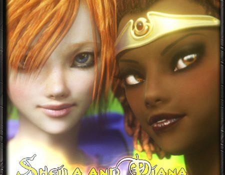 Artist Vaesark - CGS 128 - Sheila and Diana